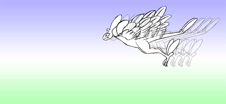 羽ばたき2-4