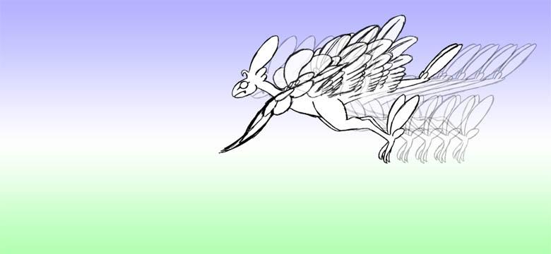 羽ばたき2-5