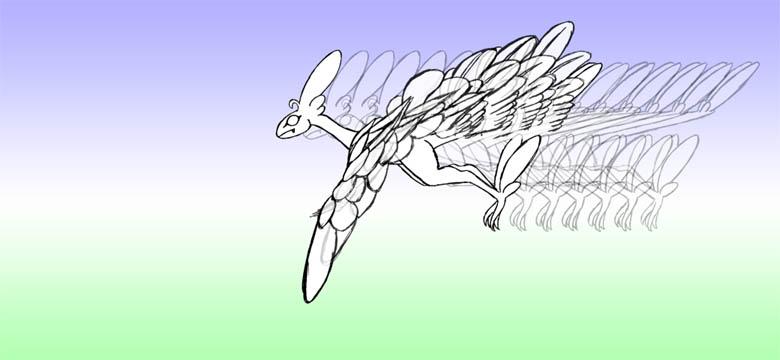 羽ばたき2-7